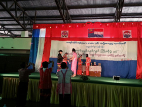 Fresher welcome and fairwel for Karen university students